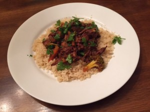 Spicy Thai Beef Stew (crockpot)