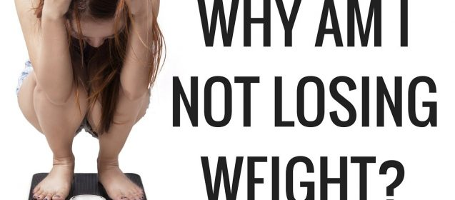My Diets Not Bad and I Train Every Day But I'm Not Losing Any Weight!