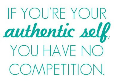 Your Authentic Self Is Enough