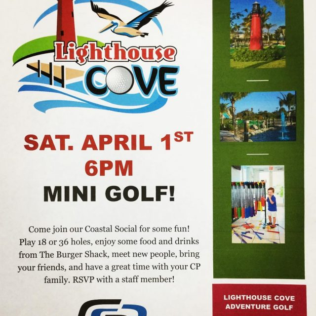 Coastal Social time baby! Join us for some mini golfhellip