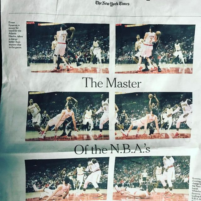 Open up the nytimes Sunday sports section and ersanilyasova7 ishellip