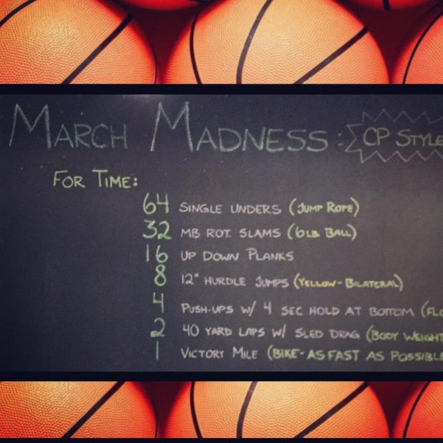 Have you completed the March Madness Challenge yet?! CoastalPerformance Challengehellip