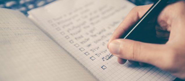 Write Your Winter Bucket List