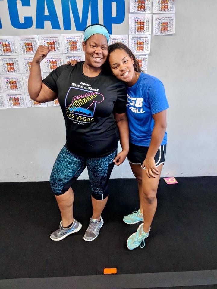 Weight loss success- Traci