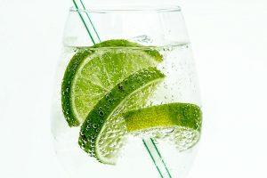 Vodka, Soda Water, Limes
