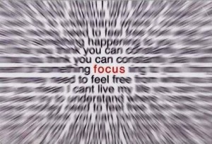 Time to Switch your Focus