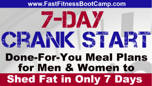 7 Day Crank Start Meal Plan