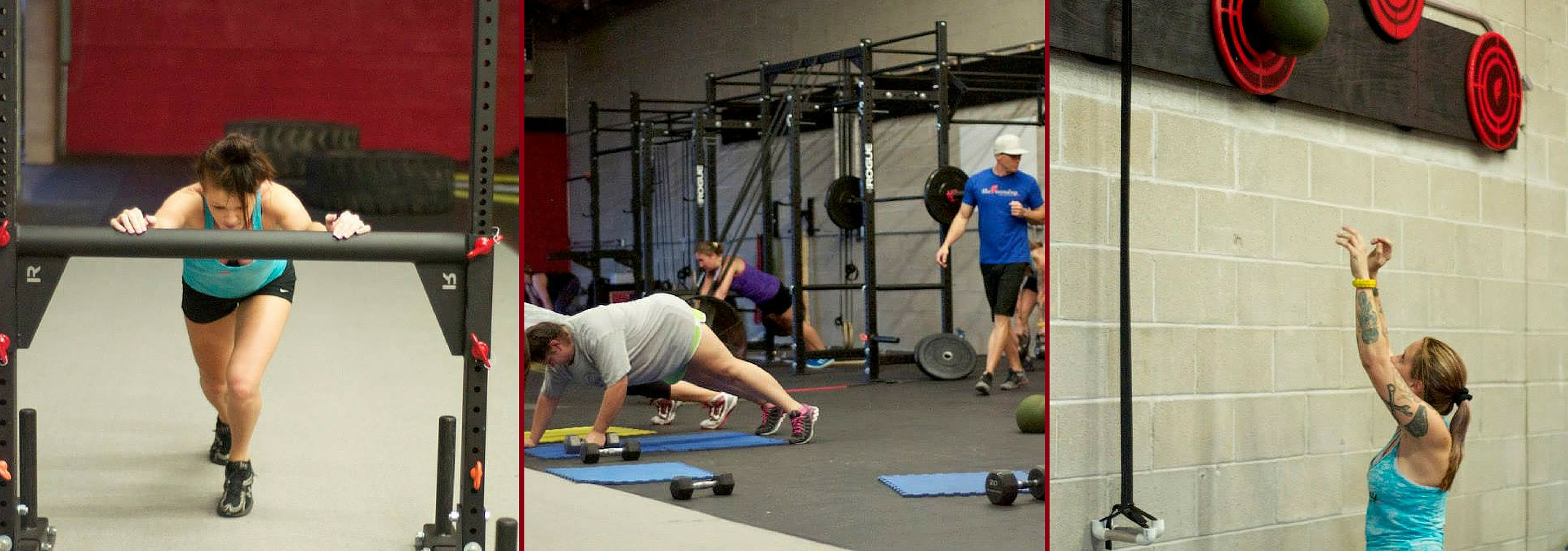 Different Workouts at The Foundry