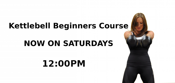 Saturday Beginner Course Announcement noon