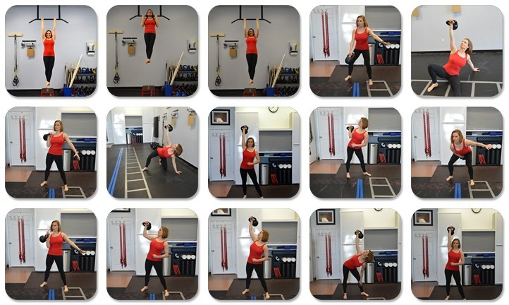 Kelly Scott Performing Full Body Strength Training Methods