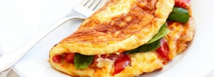 spinach-cheese-tomato-omelette