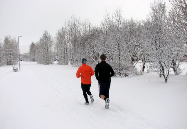 Exercising In The Cold