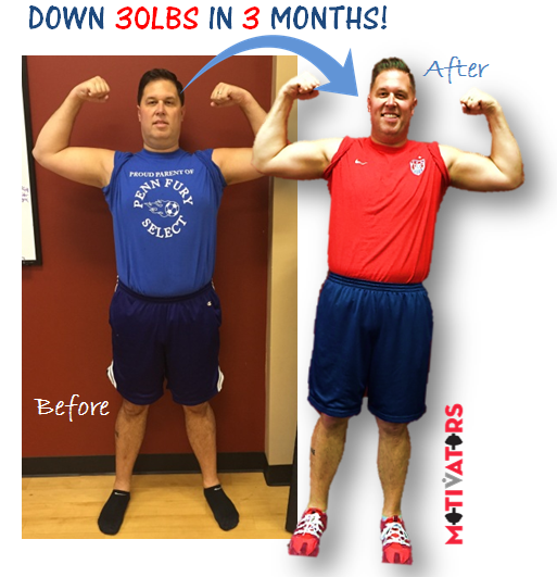 Danny M - 30lbs down in 3 months