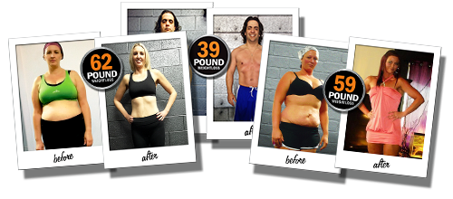 personal training clients results