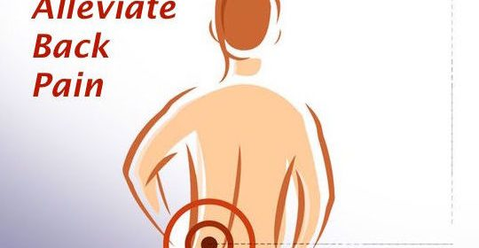 Ways to Alleviate Back Pain
