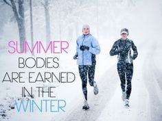 Working Out In Winter Weather
