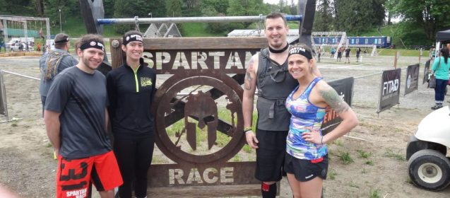 Burpees in the mud... Seattle Super Race Recap