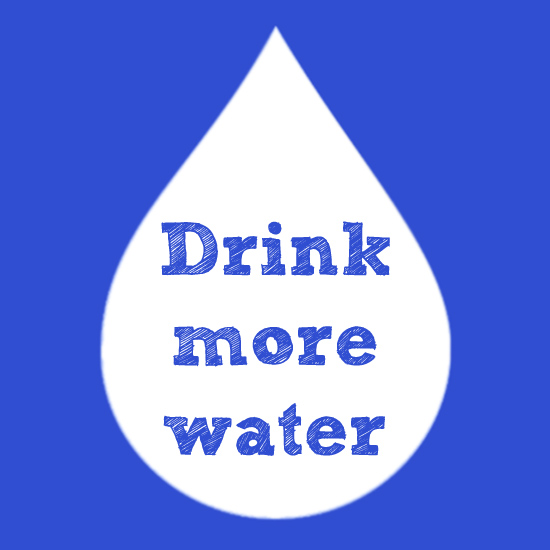 Drink more water - OTG Resolutions