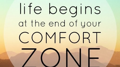Push Past Your Comfort Zone