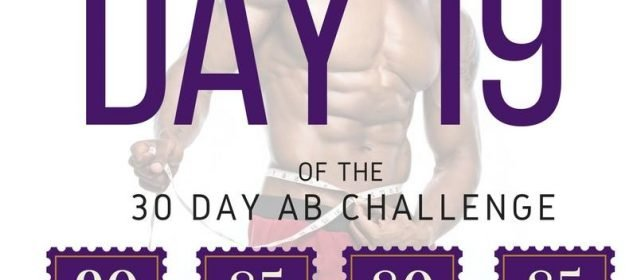 ABS CHALLENGE-DAY 19