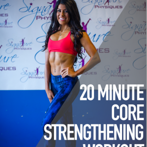 20 Minute Core Strengthening At Home