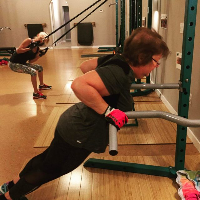 Susan has developed some incredible strength!! Starting day one andhellip