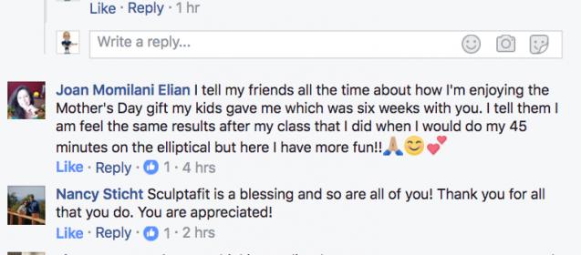 SCULPTAFIT 1 Year Anniversary Thank You Video