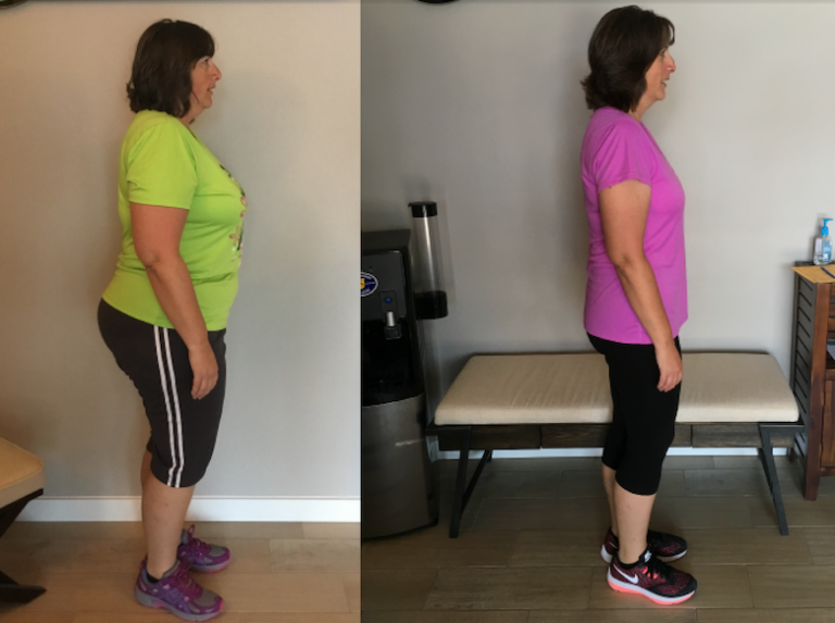 nicole s 10 month wellness and weight loss side view progress photos