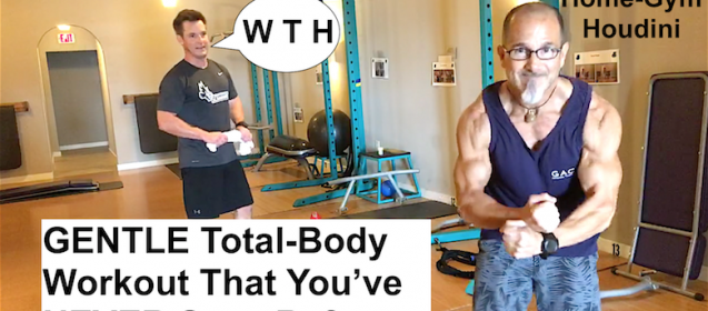 Best Personal Trainer In the World Trains Sports Medicine Director In Total-Body Workout