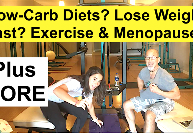 Low-Carb Diet Problem to Lose Weight Fast, Menopause Exercise, Home Fitness Revelation, More Healthy Food Examples, Back Stretching Exercise W3
