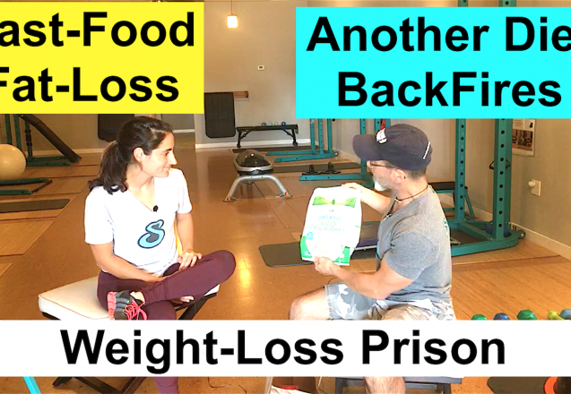 Fast Food Diet Success Weight-Loss Prison Nutrition Freedom