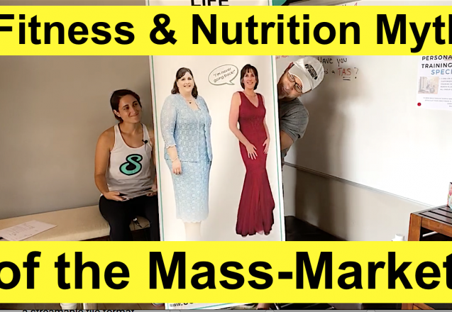 5 Fitness & Nutrition Myths of the mass market