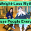 3 More Damaging Weight Loss Myths That Confuse People Every Day