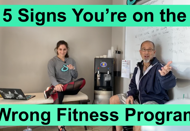5 Signs You're on the Wrong Fitness Program w3 podcast image