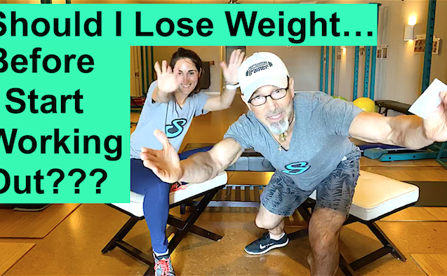 Should I Lose Weight Before I Start Working Out?