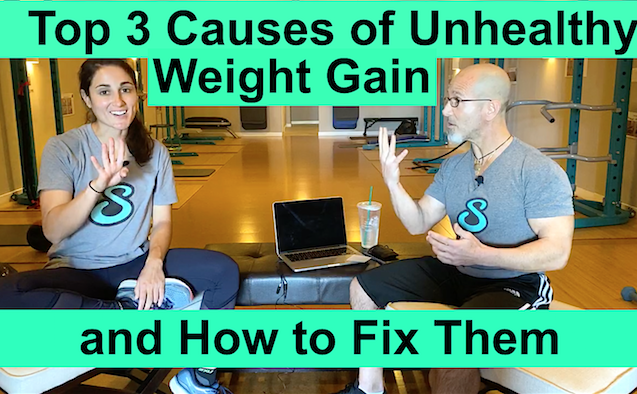 Top 3 Causes of Unhealthy and how to fix them for weight loss
