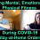 Building Mental, Emotional, Physical Fitness During COVID-19 Stay-at-Home Orders for Coronavirus