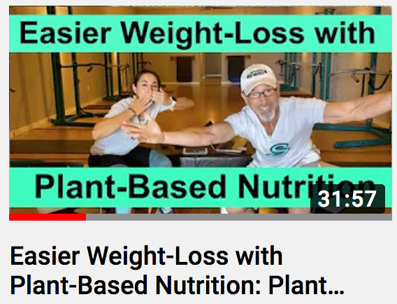 Easier Weight-Loss with Plant-Based Nutrition: Plant-Based Diet for Burning Body-Fat