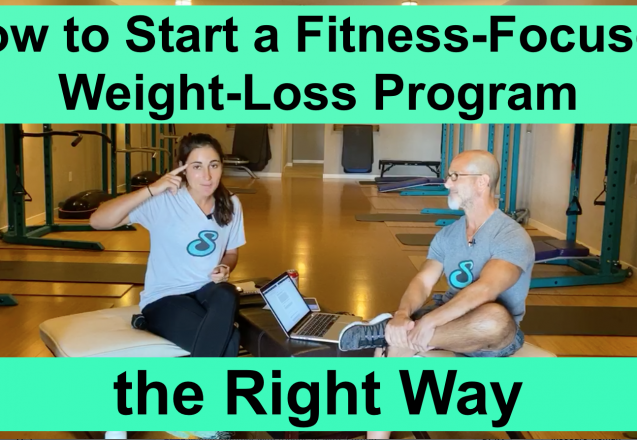 How to Start a Fitness-Focused Weight-Loss Program the Right Way image episode 44