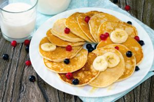 Five Fast Meals Banana Pancakes