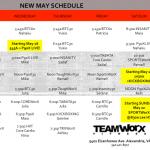 worx may schedule