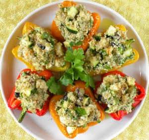 Vegetarian Stuffed Capsicum