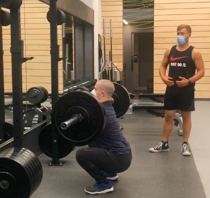 UpFit Training Academy - Squat Progression