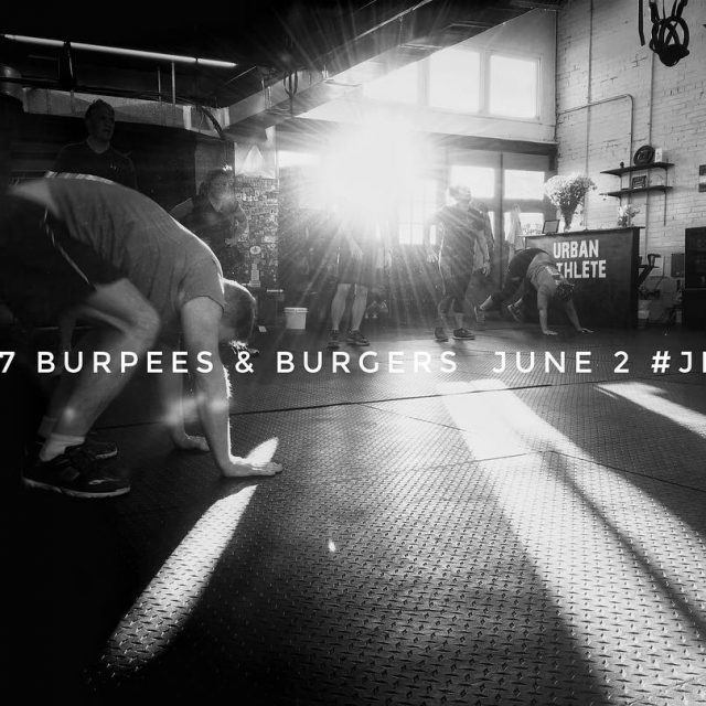 Its Burpees amp Burgers season! Register online to participate! Junehellip