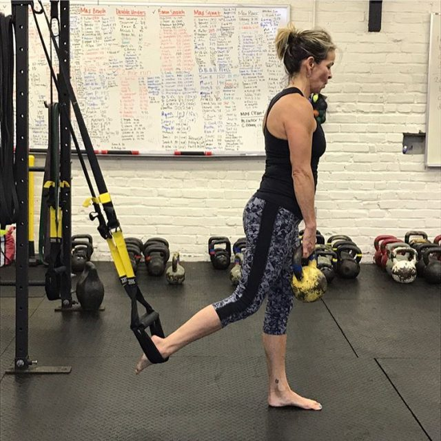 Its TRX day! Scroll right to watch Shantih demo thehellip