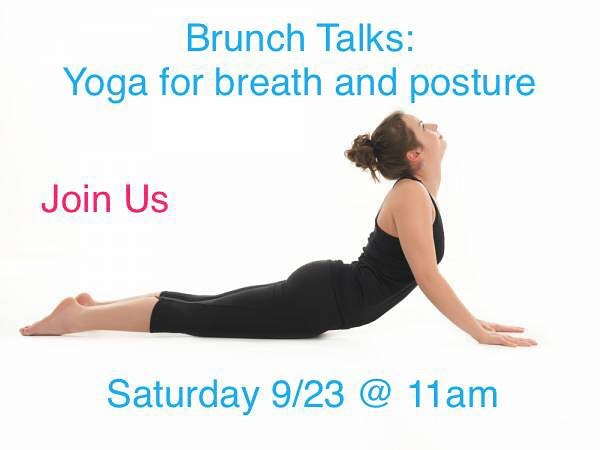 The first in our series of Brunch Talks This Saturdayhellip