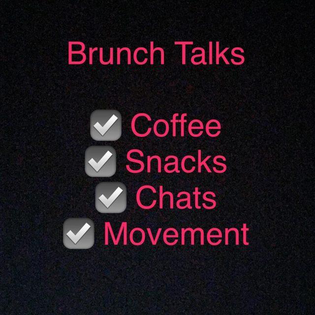 Brunch Talks Series   This Saturday 923 at 11amhellip