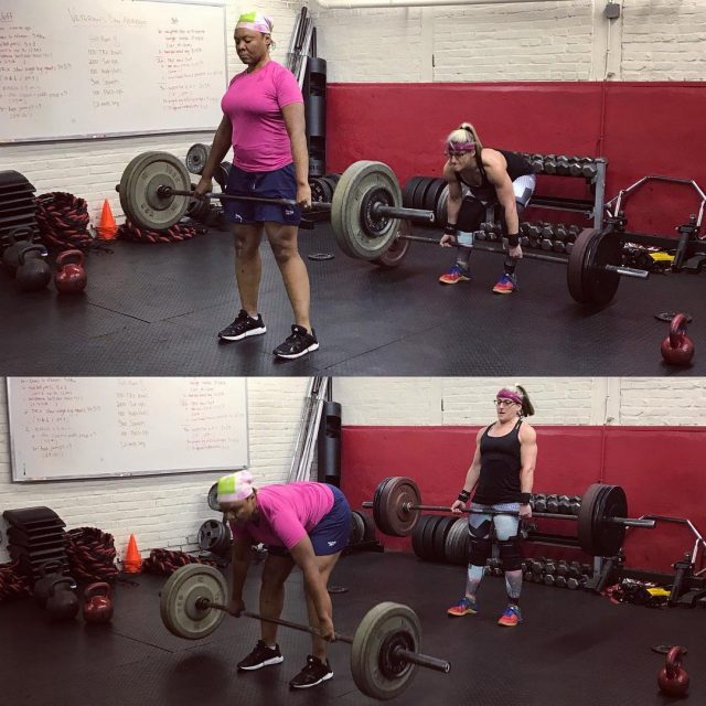 Deadlifts anyone? We dont regularly program barbell work into ourhellip