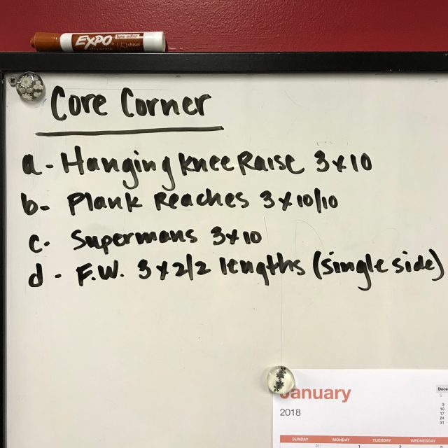 Have you checked out the Core Corner yet? Each weekhellip