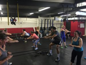 large group personal training